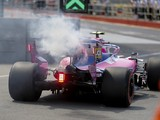 Racing Point's Stroll back to old-spec Mercedes after engine failure