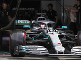 Hamilton quickest in mixed session for Mercedes