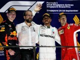 Lewis Hamilton opens 40-point lead with Singapore win