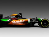 Force India unveil radical livery