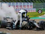 Russell disputes he slapped Bottas after Imola crash
