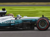 Hamilton sets pace in damp opening session in Austin