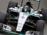 Rosberg rues left front as Hamilton steals pole