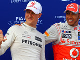 'Schumi had to drive himself but Hamilton has help'