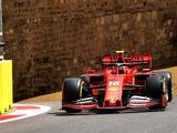Charles Leclerc heads Ferrari 1-2 in second Azerbaijan GP second practice