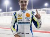Norris takes pole on F2 debut