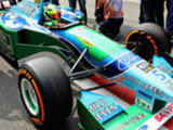 Schumi junior in Michael's car!