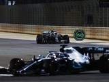 Valtteri Bottas had plastic bag stuck in front wing in Bahrain GP