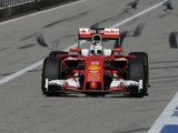 Vettel handed reprimand after pit entry misdemeanour