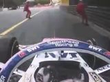 Perez relieved after marshal near-miss
