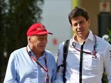 Guiding light Niki Lauda irreplaceable at Mercedes - Toto Wolff