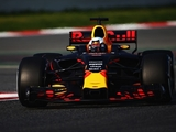 Red Bull prompt first red flag at Barcelona