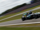 Lewis Hamilton beats Nico Rosberg to pole at Silverstone