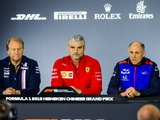 China: Friday's FIA press conference