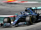 Bottas tests new Mercedes chassis, PU upgrades