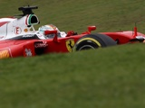 Vettel crash curtails Pirelli wet weather test