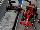 Ferrari drivers take on new engines after Vettel failure