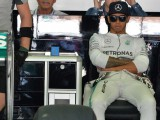 Hamilton takes gearbox change, aims for 'damage limitation'