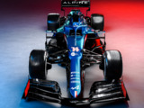 F1's new look: Alpine reveal blue car for 2021 debut