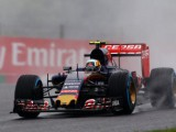 Sainz fastest in wet opening session at Suzuka