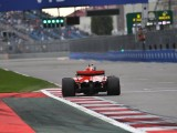 Resurfacing top three places of Sochi F1 grid 'wrong' - Vettel