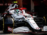 Giovinazzi almost missed Q3 with wheel issue