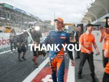 Video: Sainz thanks McLaren in emotional video
