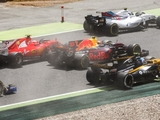 Verstappen, Raikkonen rue 'unfortunate' clash
