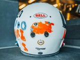 Six year-old designs Norris' British GP helmet