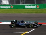 Hamilton keeps title hopes alive with Mexico win