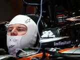 First corner bump forces Hulkenberg to play catch up