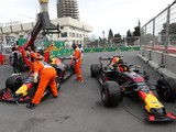 Red Bull F1 team blames both Verstappen and Ricciardo for collision