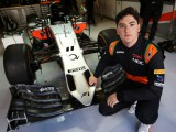 Celis Jr savours maiden Force India outing