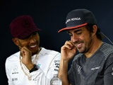 Hamilton: 'Alonso the only driver I've learned from'