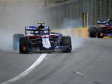 Hartley apologises for 'scary' F1 qualifying incident with Gasly