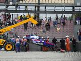 Hartley out of Spain F1 qualifying after FP3 crash