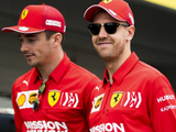 Vettel: Leclerc won't be team leader in 2020