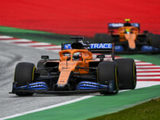 """McLaren's Sainz Jr. on Styrian GP – """"A very disappointing day"""""""