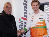 Hulkenberg confirmed at Force India for 2014