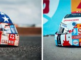 F1 drivers unveil special helmet designs for US GP weekend