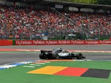 Lewis Hamilton wins F1 German GP after Sebastian Vettel crashes