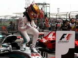Hamilton could curb victory celebrations