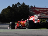 Vettel plays down Ferrari testing speed