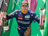 "Sainz ""halfway disappointed"" to miss maiden win in Italian Grand Prix"