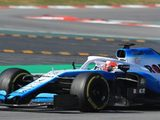 Williams have difficult day of testing in Spain