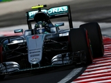 FP2: Rosberg sets the pace as Hamilton crashes