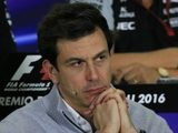 "Toto Wolff: ""We deal with setbacks together"""