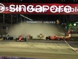 First Corner Crash Eliminates Vettel, Verstappen & Raikkonen