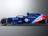 Should this be Alpine's new F1 livery?