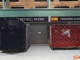 F1 circus pitches tent in Singapore